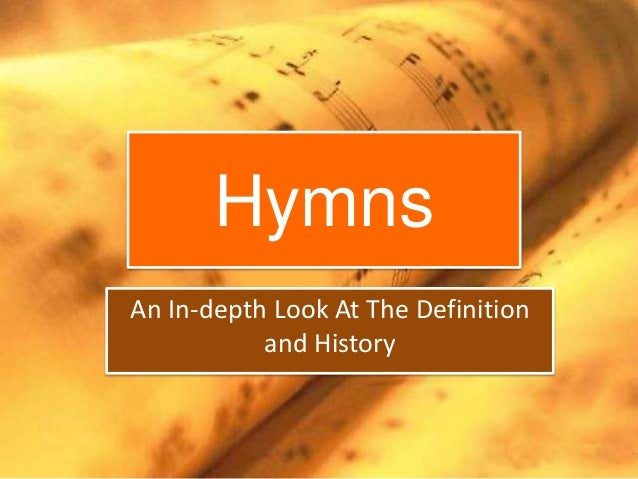 ppt hymns