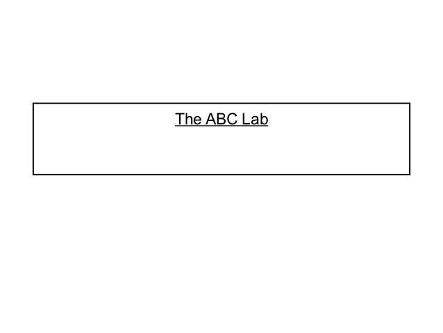The ABC Lab