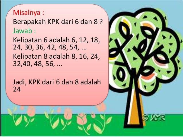 PPT tentang Faktor dan Kelipatan untuk Kelas 4 SD (By ...