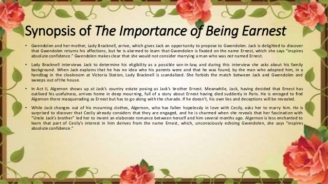 The Importance of Being Earnest: Characters, Marriage, Comedy | SchoolWorkHelper