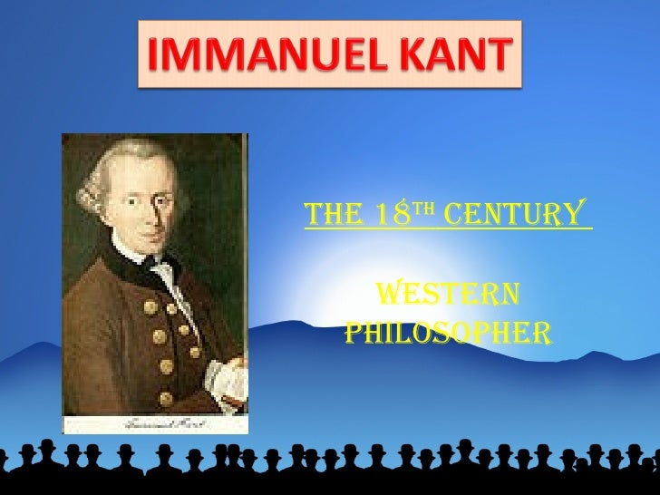 The Categorical Imperative of Immanuel Kant's Philosophy