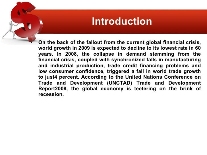 impact of the current global financial crisis The global financial crisis and its impact on india k g viswanathan  i introduction the world has witnessed several financial crises in the past few.