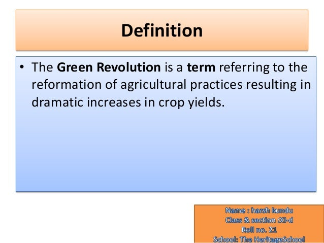 What Are the Positive and Negative Impacts of the Green Revolution?
