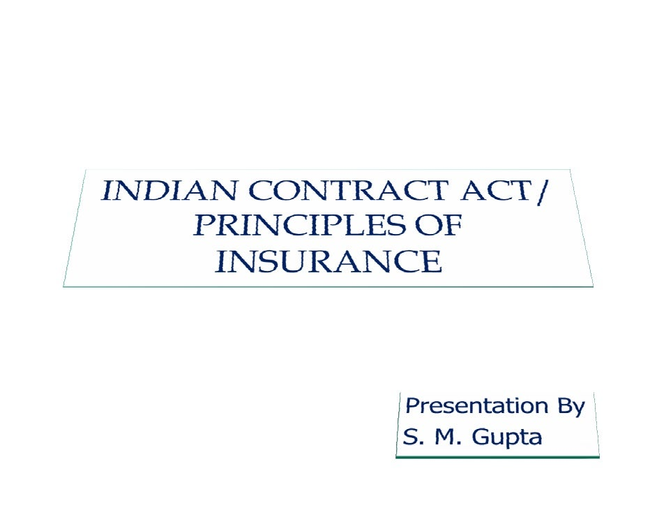 Introduction to Indian Contract Act