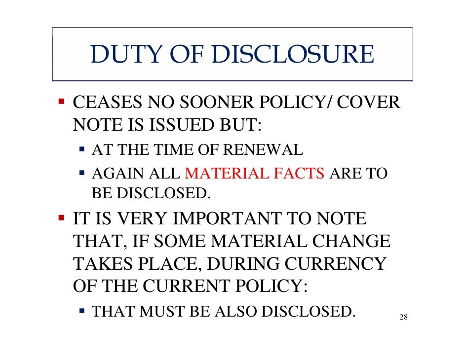disclosure of material facts by proposer of insurance essay Contracts act 1950 (revised 1974  as against the proposer,  an act to amend the contracts act 1950 to make provisions with respect to scholarship.
