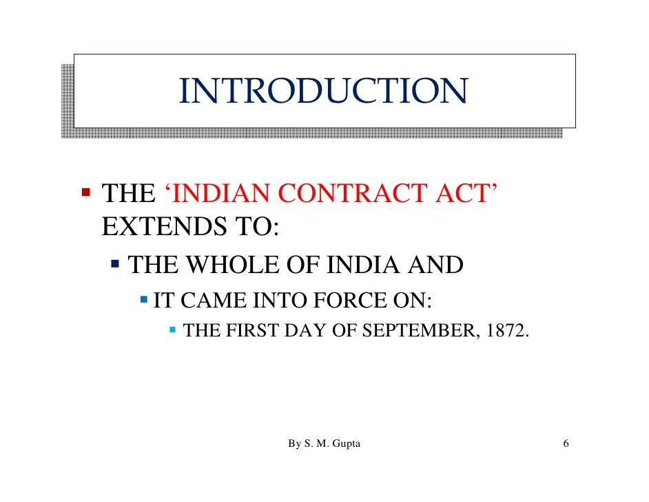 Act act pdf indian contract bare