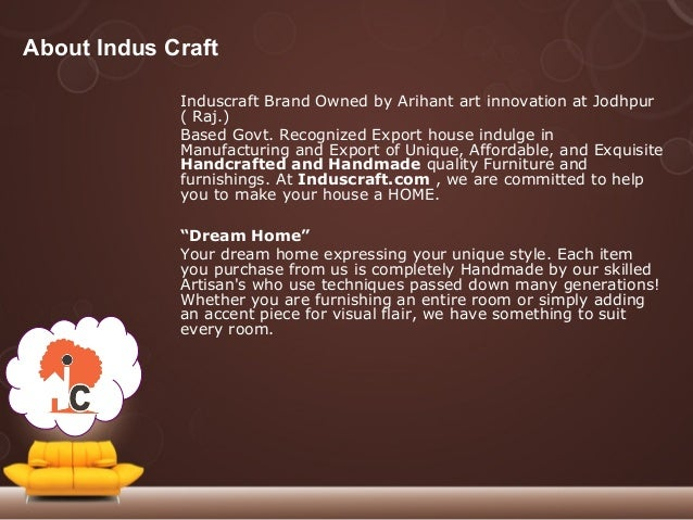 Buy Home Decor Furniture Online 1 Indus Craft Furniture Store Arihant Art Innovation 2