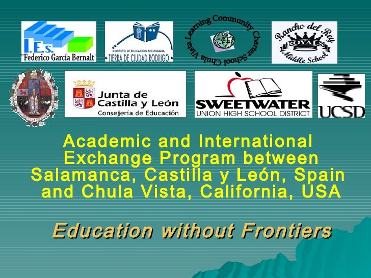 Chula Vista Learning Community Charter School Academic and International  Exchange Program between Salamanca,  Castilla y ...