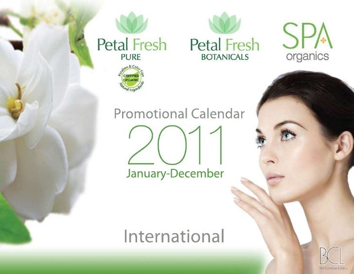 Promotion Calendar 2011 - International Retail