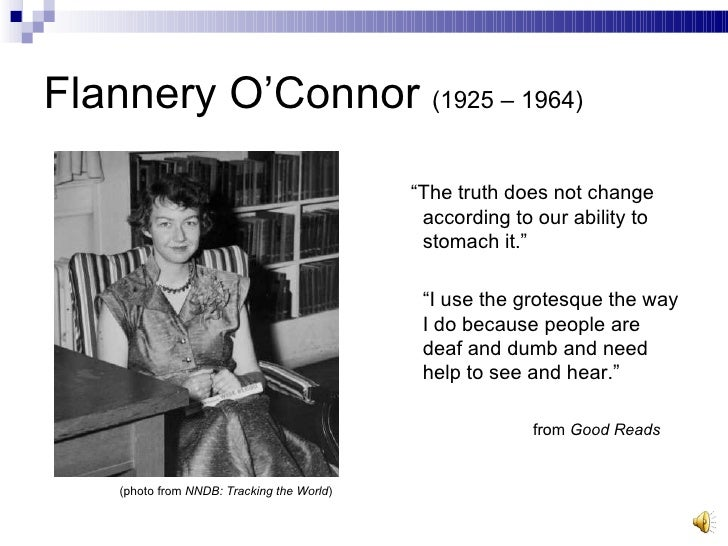 an overview of the gross and grotesque in flannery oconnor Complete summary of flannery o'connor's good country people enotes plot summaries cover all the significant action of good country people.