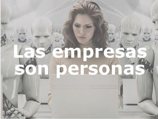 Las empresas son personas