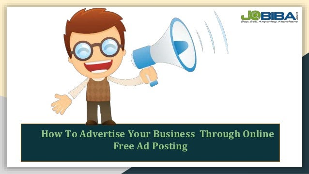 Post free classified ads in India- Jobiba