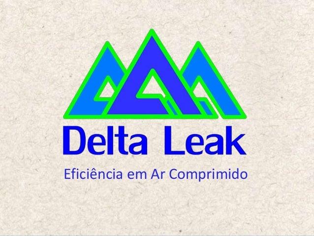 Delta Leak: (19) 3307 7043 | www.deltaleak.com.br Eficiência em Ar Comprimido