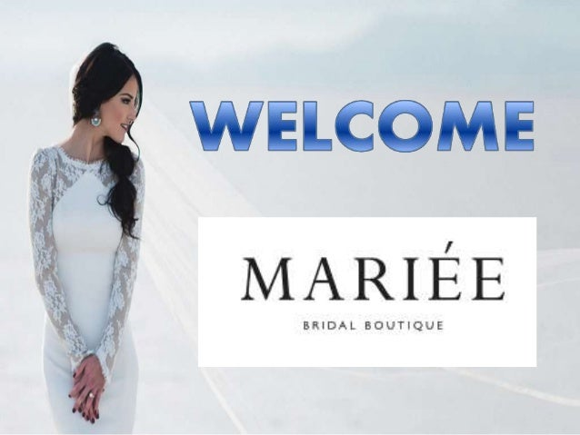 About Us Mariée bridal boutique is a wedding dress designer specialist in Cheshire, Nantwich and across the UK. We are exp...