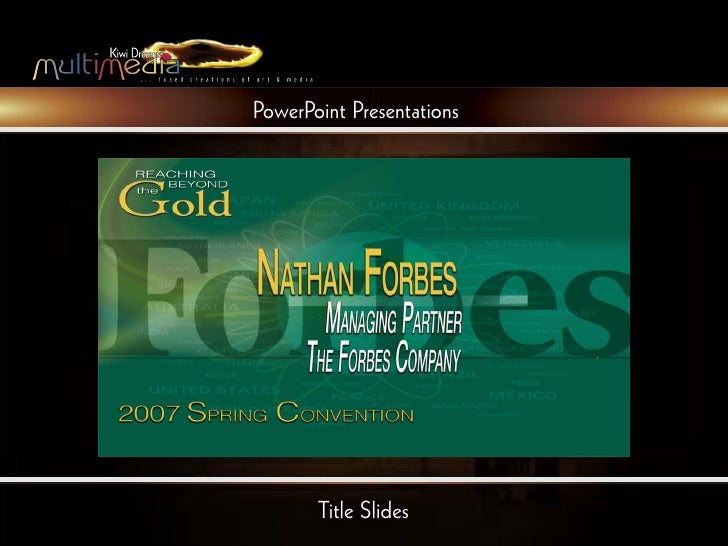powerpoint presentations title slides