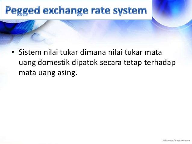 Nilai tukar valuta asing
