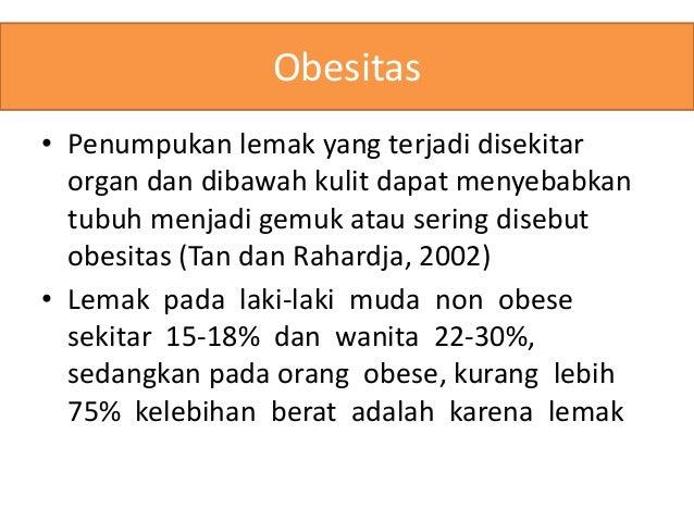 Penanganan Gizi Obesitas