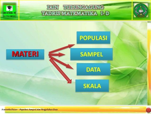 Populasi dan Sampel Slide 3