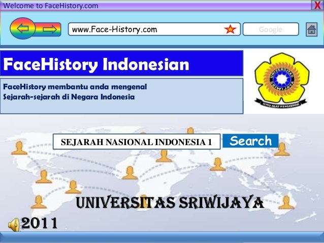 Welcome to FaceHistory.com www.Face-History.com Google FaceHistory Indonesian FaceHistory membantu anda mengenal Sejarah-s...