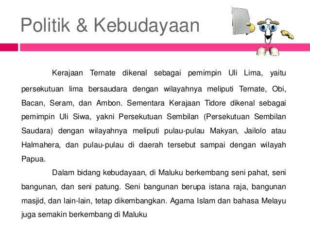Ppt Kerajaan Islam Di Maluku Papua Dan Nusa Tenggara