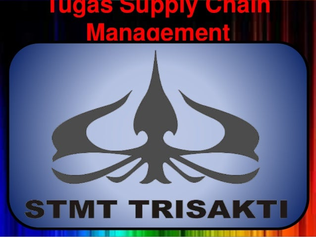 Tugas Supply Chain Management