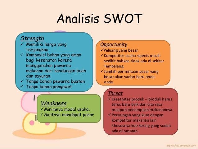 Contoh Analisis Swot Produk Makanan Ppt Kumpulan Soal Pelajaran 5