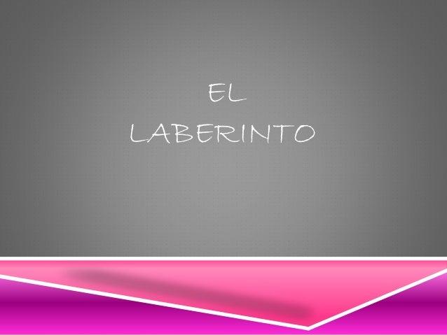 Juego Del Laberinto En Ppt