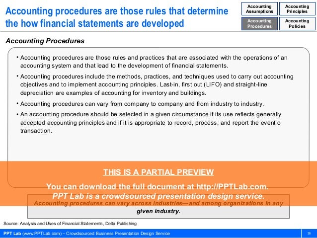 An analysis of the generally accepted accounting principle method in financial accounting