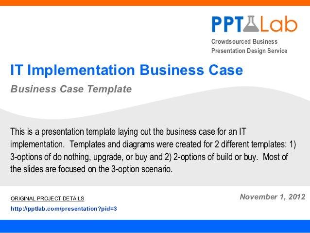 Crowdsourced Business                                                         Presentation Design ServiceIT Implementation...