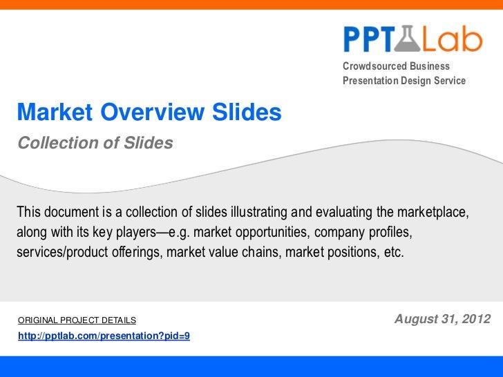 Crowdsourced Business                                                            Presentation Design ServiceMarket Overvie...