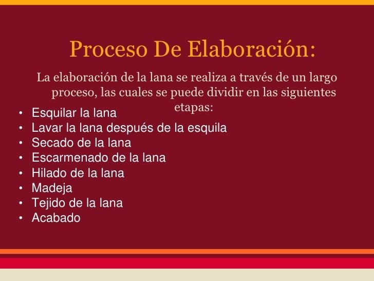 Circuito Productivo De La Lana : Ppt la lana y las obejas