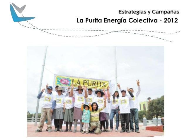 La Purita Energía Colectiva - 2012