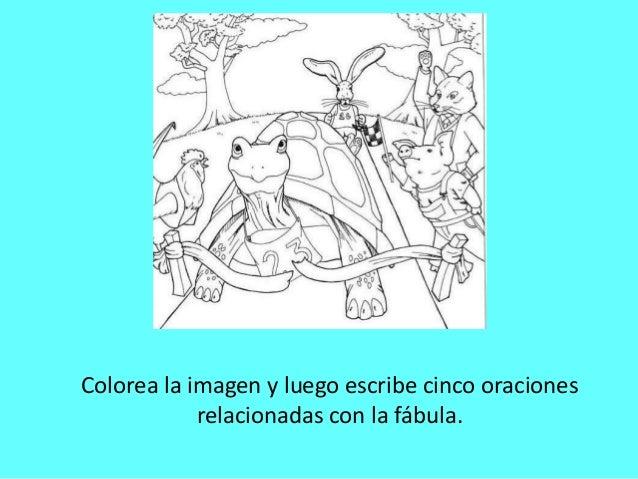 PPT La tortuga y la liebre- Lenguaje y Comunicación-3° básico