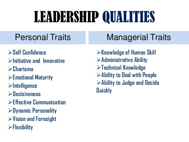the talents and attributes of an effective leader Please share any additional ideas you have for effective leadership traits in the comments blog/ 10 traits of effective leaders // re-blog awaken the in a wide variety of personal characteristicswe take raw talent and cultivate innate skillsyou can also.
