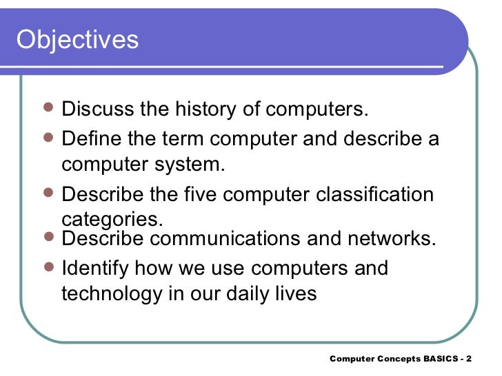 The history of computers power point |authorstream.