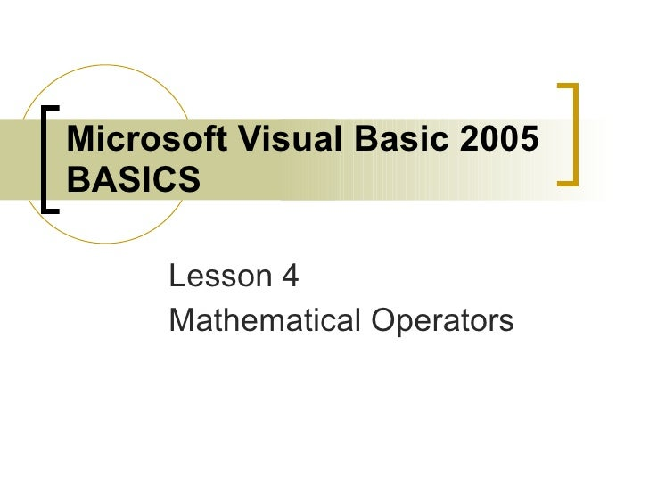 Lesson 4 PowerPoint