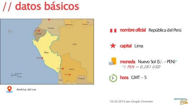 Hacer negocios en Perú Slide 2