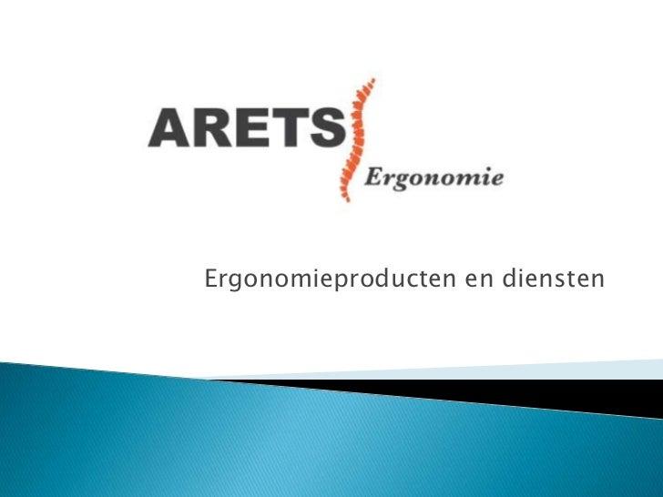 Ergonomieproducten en diensten<br />