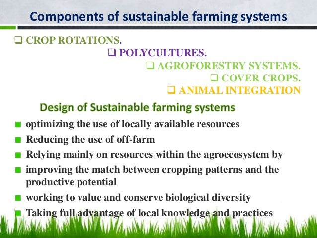 cropping systems and farming systems,Ppt lodha intro