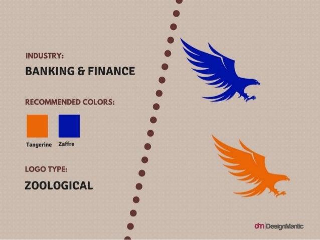 Industry: Banking & Finance, Logo type: Zoological Colors: Tangerine, Zaffre