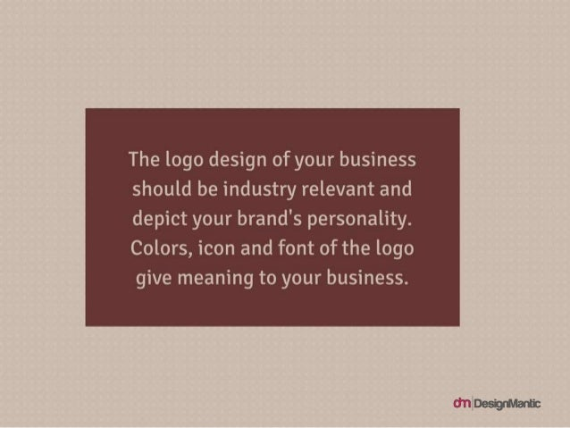The logo design of your business should be industry relevant and depict your brand's personality. Colors, icon and font of...