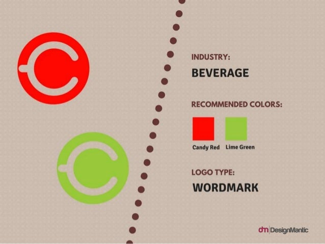 Indusrty: beverage Logo Type: Wordmark Colors: Candy Red, Lime Green