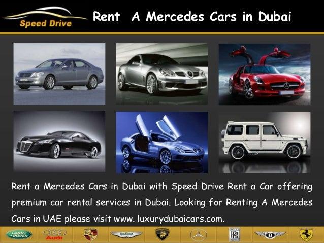 Exotic Car Hire Dubai