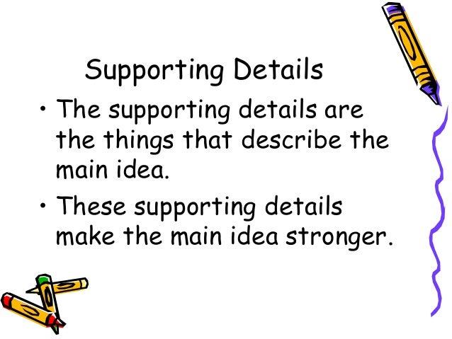 Main idea | power point maniac's teaching resources.