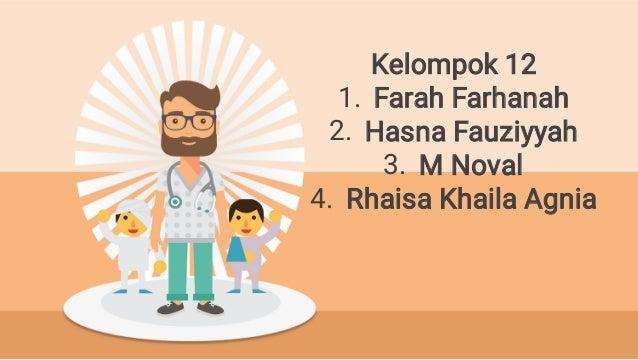 1. 2. 3. 4. Kelompok 12 Farah Farhanah Hasna Fauziyyah M Noval Rhaisa Khaila Agnia