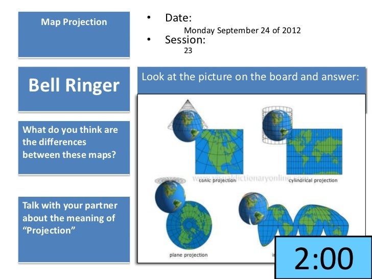 map projections Some commonly used map projections this section outlines the features of a selection of more commonly used projects it is by no means a full list projections which.