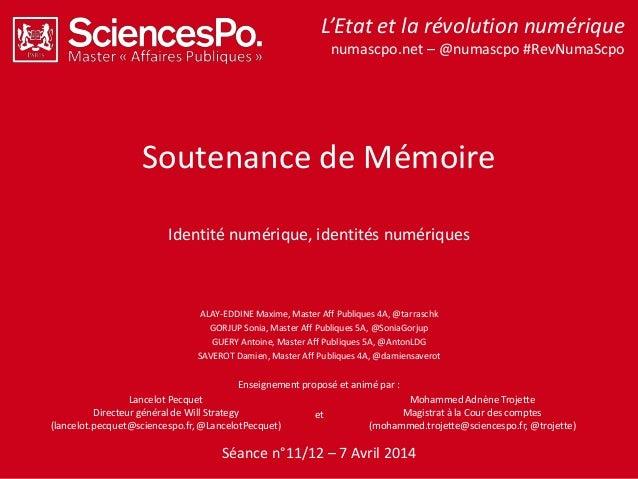 L'Etat et la révolution numérique – numascpo.net – @numascpo par Lancelot Pecquet et Mohammed Adnène Trojette#RevNumaScPo ...