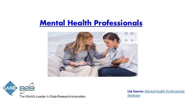 mental health practitioner