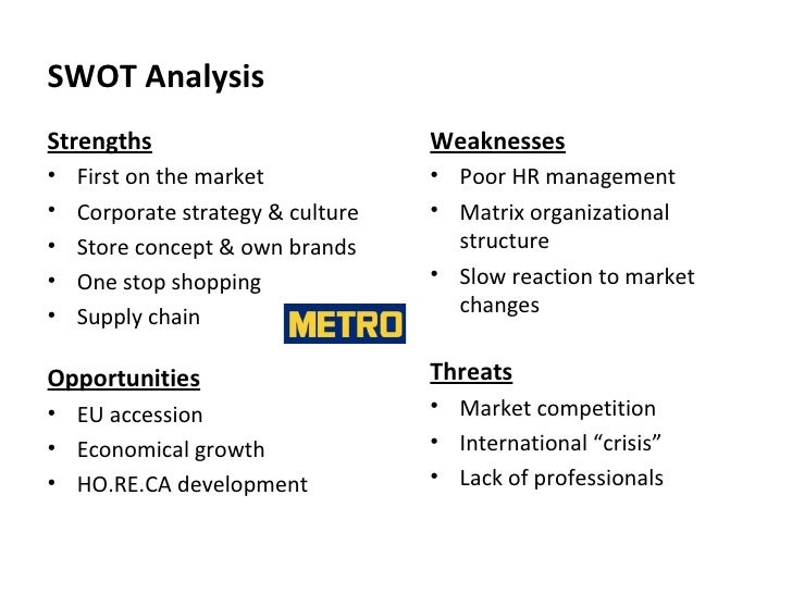 organizational structure of metro cash and carry Metro cash & carry team project by: iuliana barbu aurelian iancu cristian pistol tiffin university emba stefan paraschiv november 2008 slideshare uses cookies to improve functionality and performance, and to provide you with relevant advertising.