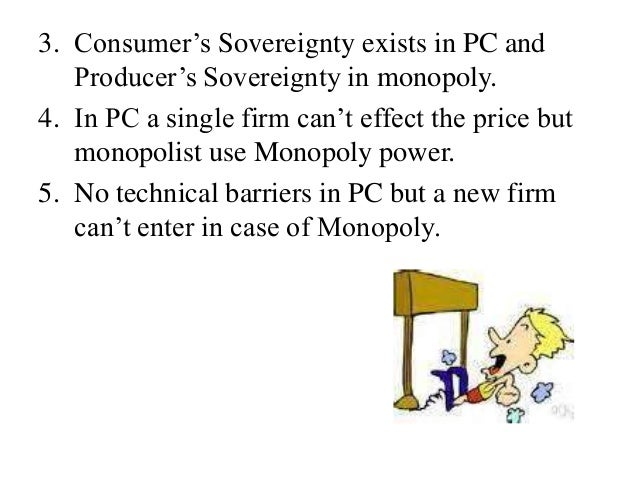 Monopoly Vs Perfect Competition